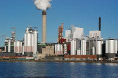 #Imatra, #Finland, Stora Enso Imatra Mill by Maija S.