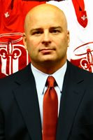 Jim Montgomery is the Head Coach & GM of the Dubuque Fighting Saints of the USHL Softball, Soccer, Nhl Players, Clinic, Ronald Mcdonald, Saints, Youth, Children, Fastpitch Softball