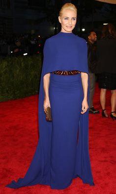 MET GALA: THE BEST DRESSES - Cameron Diaz In Stella McCartney At The Met Ball 2013