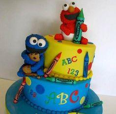 Preciosa Torta De Plaza Sesamo Para Tu Cumple!!!! - $ 130,00 en ...