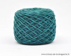 Anticipons le froid en douceur… Tricotons cachottière coloris Trieste #ladroguerie #tricot « Cachottière » 30% Super Cashmere 70% laine mérinos extra fine