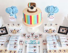Esra M's Baby Shower / - Photo Gallery at Catch My Party Instagram Birthday Party, Snapchat Birthday, Instagram Party, Girls Birthday Party Themes, 13th Birthday Parties, Birthday Ideas, Slumber Parties, 16th Birthday, Disco Party