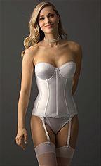 Sexy satin waist women corset underbust corset and corset junglespirit Choice Image