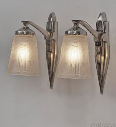 MULLER-FRERES-PETITOT-PAIR-FRENCH-ART-DECO-WALL-SCONCES-appliques-1930-lamp
