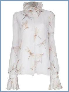blusas que fazem sucesso - blusa com estampa libelula - dragonflyl blouse - moda outono - moda anti-idade