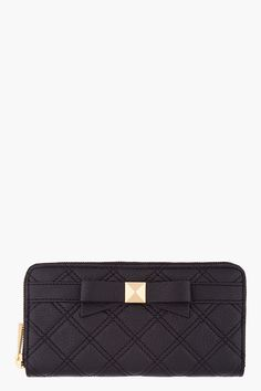 b74eacd186b7 Marc Jacobs Black Lindy Deluxe Wallet for women