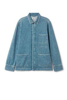 9516d04266e Jackets   coats - Categories - Men - Weekday SE Denim Button Up