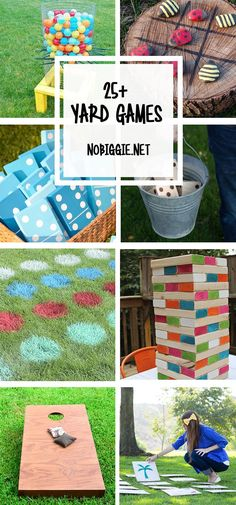 25+ DIY Yard Games
