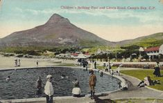 Children's bathing pool and Lion's Head, Camps Bay