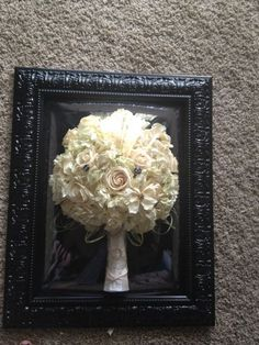 Wedding Bouquet Floral preservation