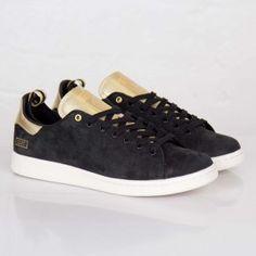 online store e3939 04549 a buon prezzo italia Scarpe da corsa Adidas Stan Smith - Clot Uomo - nero e  oro colore