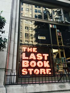 The last bookstore in downtown Los Angeles. https://www.instagram.com/natofie/