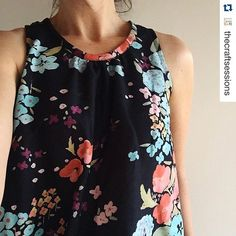 It is happening ! -you are starting to make some wonderful versions of garments from my new book lotta Jansdotter Everyday Style. Thank you for sharing -Love it ! #lottaeverydaystyle @stc_craft