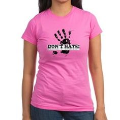 397b59f8fc988d Don t Hate Junior Jersey T-Shirt (dark)  27.99 T Shirts For