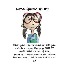 Nerd Quirks ❤ liked on Polyvore featuring quotes and words