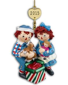 Presenting...The 2015 Raggedy Ann & Andy Annual Ornament