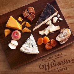 A Fall Cheese Board