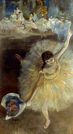 Arabesque, 1877, Edgar Degas