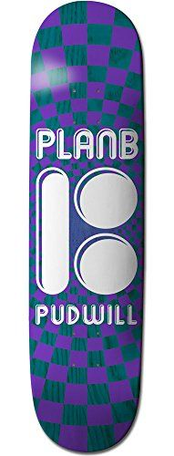 """Plan B Pudwill Optical Mini 7.75 Purple/Blue Skateboard Deck - http://shop.dailyskatetube.com/?post_type=product&p=2630 -  This can be a Plan B Skateboard Deck, do not put out of your mind so as to add grip. Emblem: Plan B Deck width: 7.seventy five"""" NOTE: Does now not include griptape. Griptape should be ordered one at a time. PRO: TOREY PUDWILL  -"""