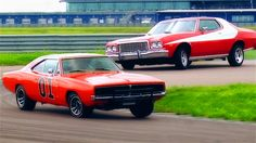 Gran Torino (Starsky and Hutch) and Charger (Dukes of Hazzard)