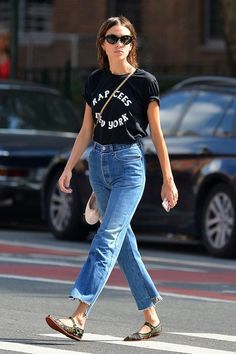 Alexa Chung Photos Photos - British model Alexa Chung is spotted leaving for…
