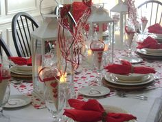 25 Romantic Valentine's Day Table Setting Ideas | Home Design And Interior