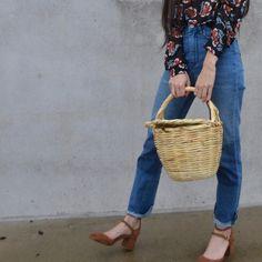 BIRKIN BASKET Jane Birkin Basket handmade by spacerocketstore
