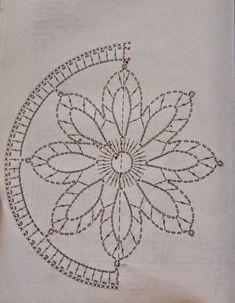 Mandala patron We are want to say thanks if you like to sh - Her Crochet Crochet Stars, Crochet Snowflakes, Thread Crochet, Crochet Stitches, Crochet Patterns, Doily Patterns, Motif Mandala Crochet, Crochet Doilies, Crochet Flowers