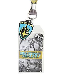 "You only get one chance to save the galaxy, twice.<br>And here's a lanyard strap from Marvel's <i>Guardians of the Galaxy Vol. 2 </i>to commemorate your galactic adventures. Sturdy nylon strap includes clear ID display, rubber Guardians logo charm and a collectible sticker.<br><ul><li style=""list-style-position: inside !important; list-style-type: disc !important"">34"" long</li><li style=""list-style-position: inside !important; list-style-type: disc !important"">Imported<br></li></ul>"