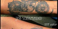 Bullet Tattoo By My Friend Asif