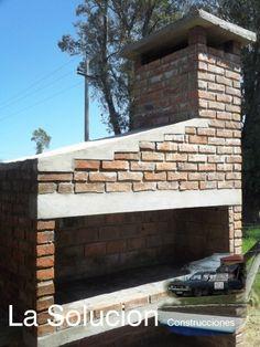 Como construir estufas de ladrillos chimeneas de obra hornos de barro y alba ileria barbacoa - Chimeneas de barro ...