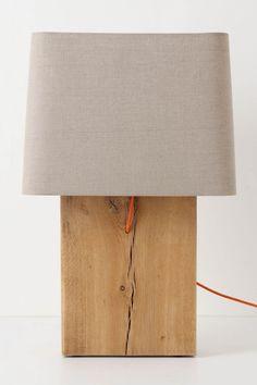 Quercus Slab Lamp Ensemble