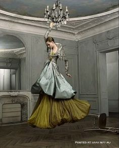 Jean-Baptiste Mondino (photo) Gown by Dior (I think)