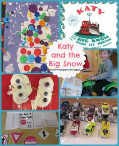 Fun activities for Katy and The Big Snow