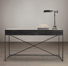 Gramercy Mirrored Desk