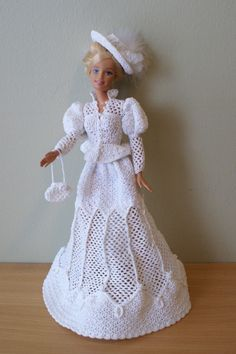 crochet barbie doll clothes patterns - Google Search