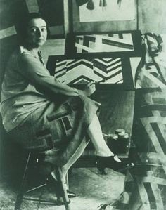 Sonia Delaunay was born in the Ukraine in 1885, into a poor family. She went to live with her wealthy uncle when she was a little girl, and was well-educated by them, and they eventually adopted her. She went to school in Germany, then convinced her aunt and uncle to send her to art school in Paris.