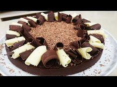 Torta de papa con chocolate sin cocción - YouTube