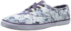 Kick it in a pair of floral print Keds. Keds Women's Taylor Swift Floral Print Fashion Sneaker, Purple, 6 M US. Low-top sneaker in graphic floral pattern featuring gold-tone grommets and Taylor Swift logo at heel. Chevron-ribbed wraparound midsole.