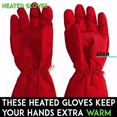 The Heated Action Gloves protect your hands from harsh winter elements! 👐 Fully waterproofed, carbon fiber battery heating element 🔋 heats up in seconds.🔥🔥 Ideal for all winter activities! ⛄ Cold Fingers, Cold Hands, Press The Button, Cycling Accessories, Cycling Gloves, Heating Element, Winter Activities, Hand Warmers, Carbon Fiber