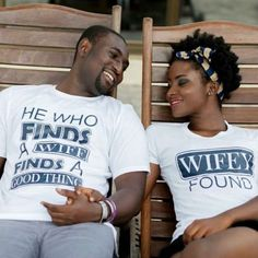 Love these his and her T's.