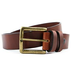 Latigo Leather (Brown/ Brass)