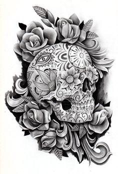 Day of the dead memorial by JCGalleryandStudio on deviantART