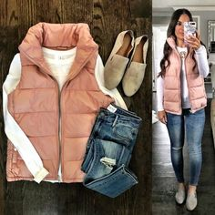 This weeks Flat Lays Come to Life is here and I have a few favorites! This puffer vest is on sale for $16 and this super soft cardigan is only $39!