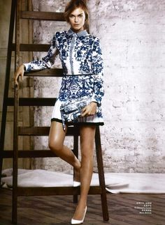 #RobertoCavalli Resort SS 2013 in Marie Claire China, January 2013 issue! #Fashion #editorial