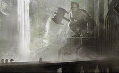 Concept art and designs for Erebor (Weta)