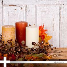 Dekorasyonunuzda yapacağınız ufak dokunuşlarla sonbaharın güzelliklerini evinizde yaşayın.