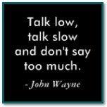 john wayne has the best classroom quotes, eh?