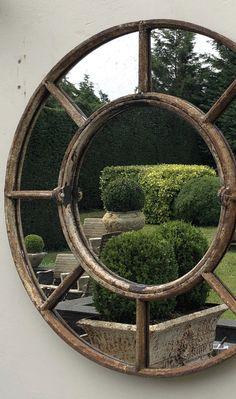 Reflection at Aldgate Home Garden Mirrors, Outdoor Spaces, Outdoor Decor, Outdoor Gardens, Courtyard Gardens, Types Of Plants, Home Reno, Container Gardening, Garden Landscaping