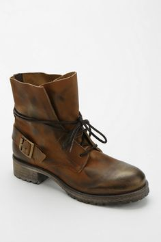 Urban Outfitters - Jeffrey Campbell 1953 Bucket Lace-Up Ankle Boot